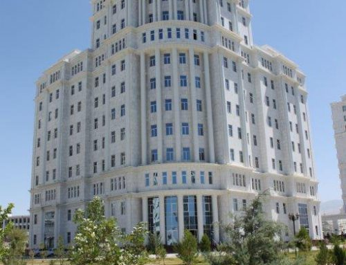 Turkmenistan Ministry of Energy and Industry Luxury Houses