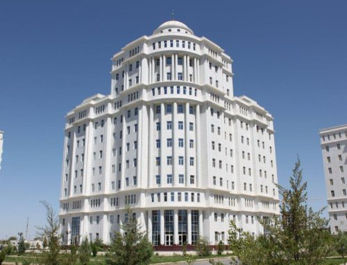 Turkmenistan Ministry of Defense Luxury Houses